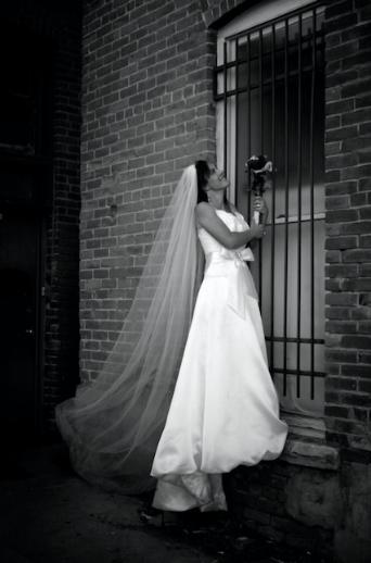Is our bride locked-in or locked-out?